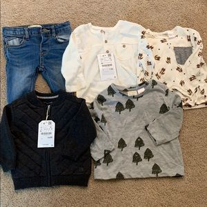 Zara's baby boys bundle size 3-6 month some NWT